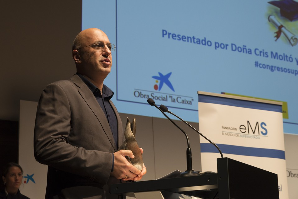 Premios Excelencia Educativa 2017 - Congreso Superdotación