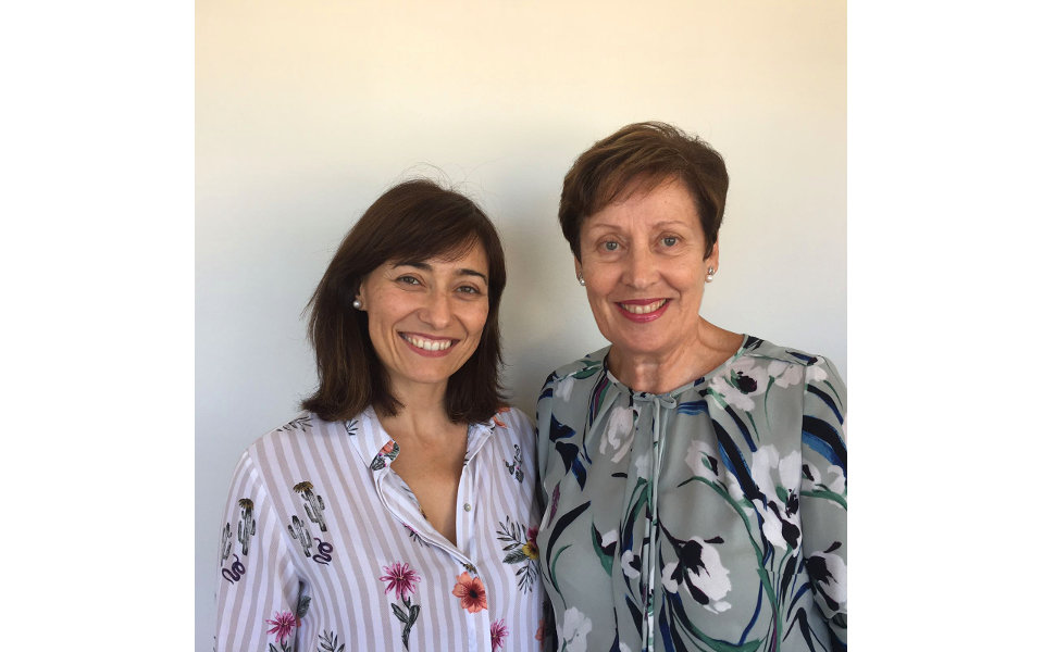 Silvia Berenguer y Áurea González