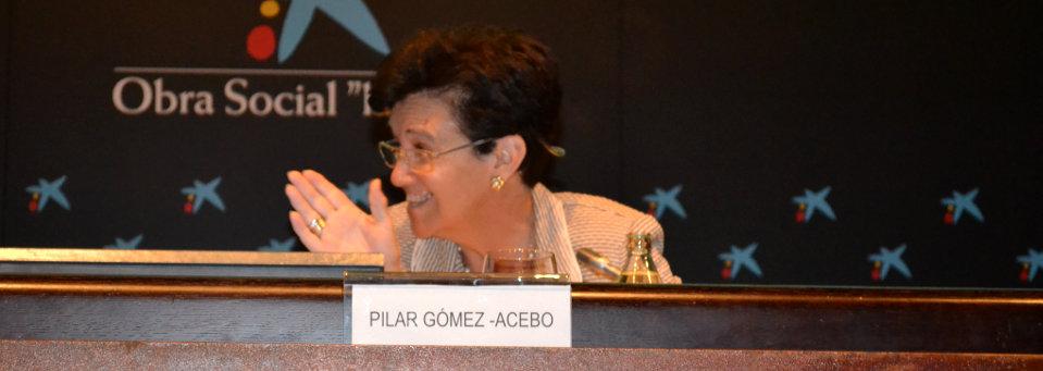 Pilar Gómez Acebo Congreso 2013